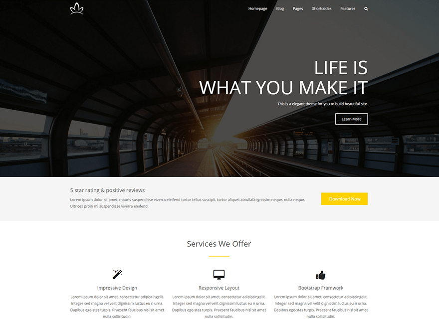 30+ Bootstrap WordPress Themes for Free Download & Paid Purc