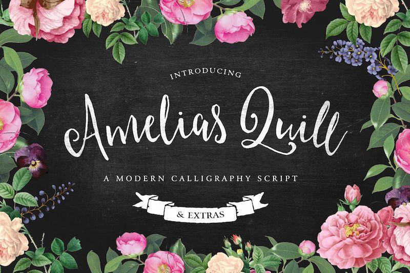 amelia-script-font