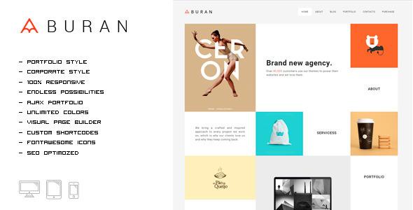 buran-portfolio-theme