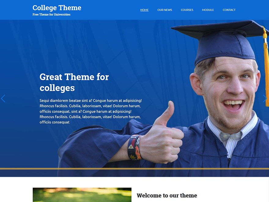 college-wordpress-theme