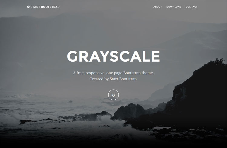 grayscale-multipurpose-onepage-template
