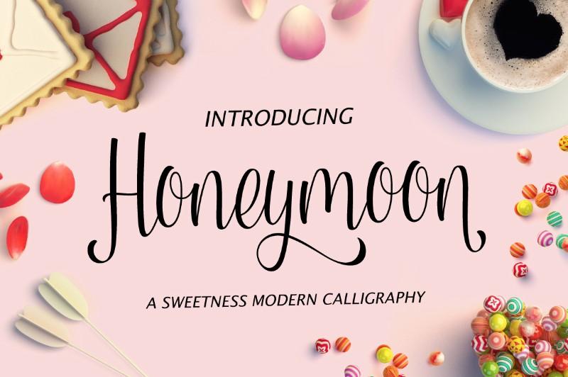 honeymoon-script-font