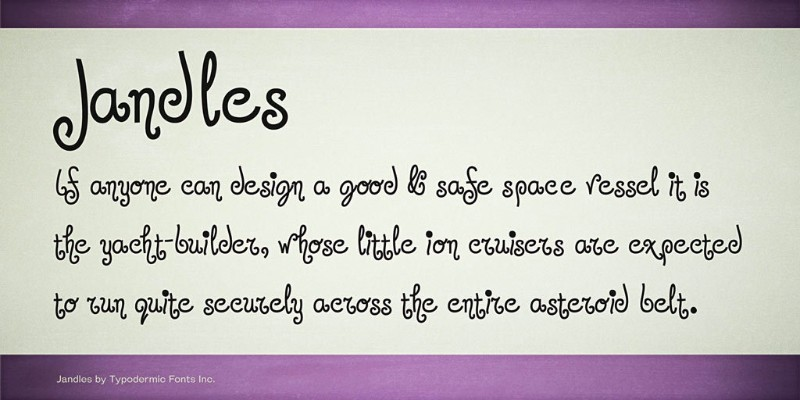 jandles-font