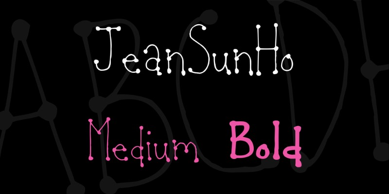 JeanSunHo Valentine Day Themed Fonts