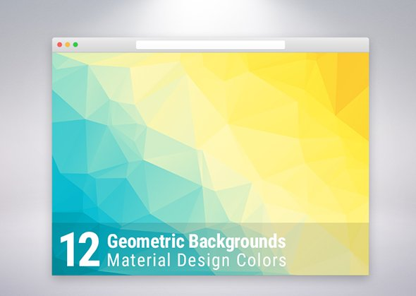 material-design-geometric-backgrounds