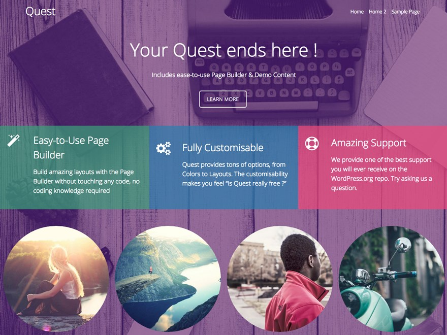 quest-page-builder-wordpress-theme