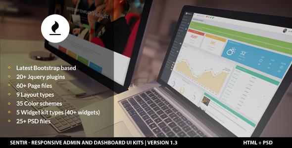 sentir-admin-dashboard-ui-kit