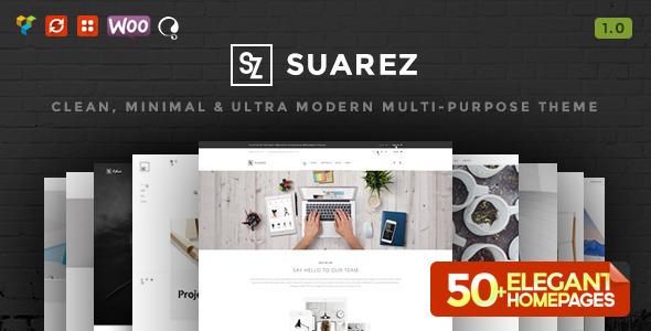 suarez-clean-minimal-theme