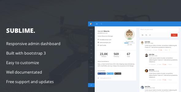 30  bootstrap admin dashboard templates