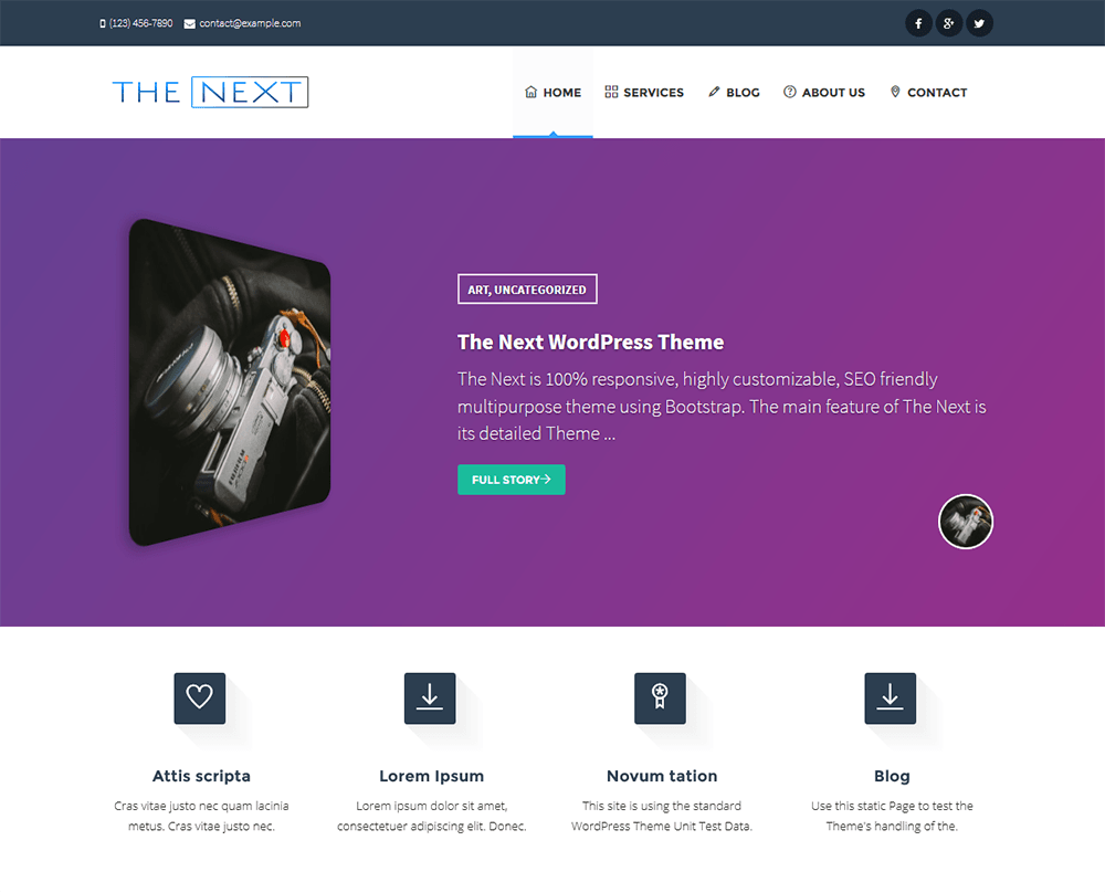 the-next-wordpress-theme