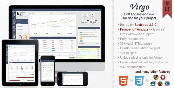 virgo-bootstrap-admin-template Scale Web Application Admin Template Free Download on