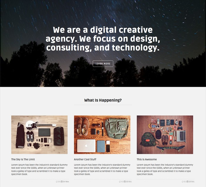 blacktie-onepage-theme