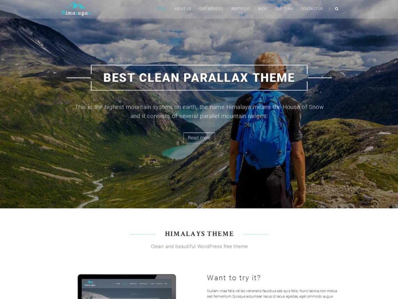 himalayas-onepage-theme
