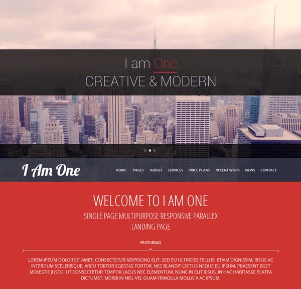 i-am-one-theme