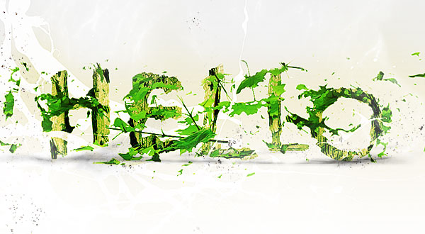 leafy-text-effect