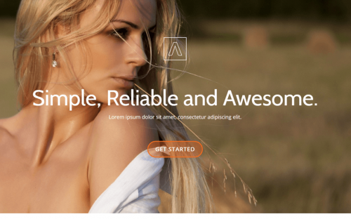 25 One Page WordPress themes for Business, Agency and Startup