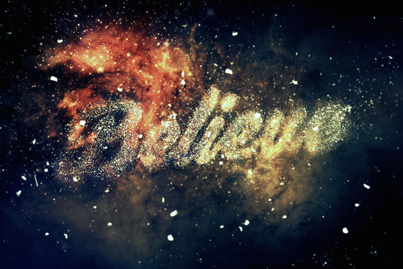nebula-text-effect