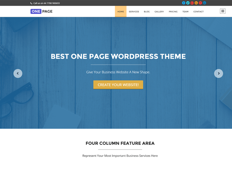 one-page-wrodpress-theme