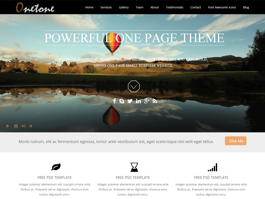 onetone-onepage-wordpress