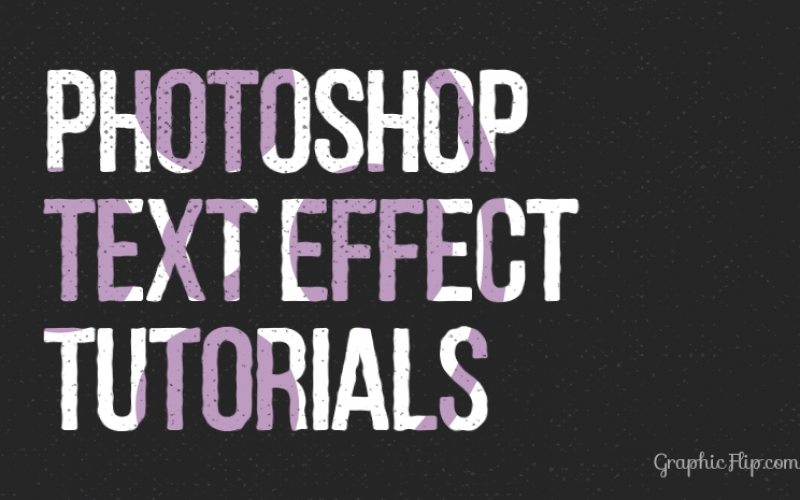 25 Amazing Photoshop Text Effect tutorials: Beginners to Advanced