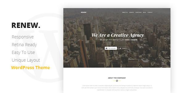 renew-creative-wordpress-theme