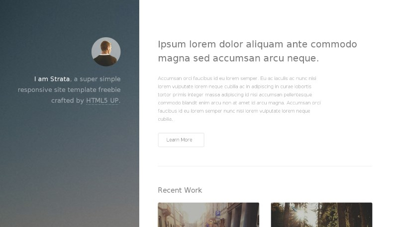 strata-onepage-template