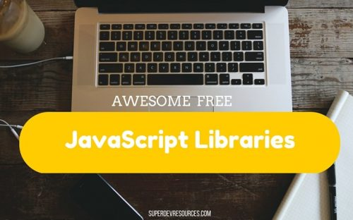 15 Awesome Free JavaScript Libraries to Enhance your Web Applications