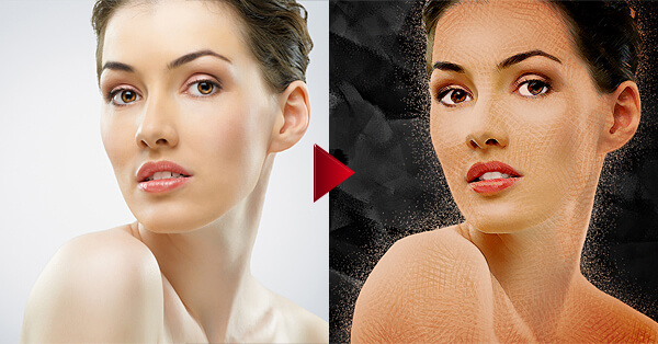 30 photoshop photo effect tutorials to improve your skills for Make a photo look like a painting