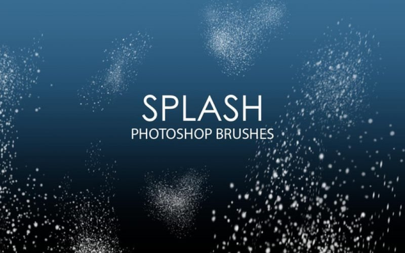 15 Free Splash Photoshop Brushes (ABR)