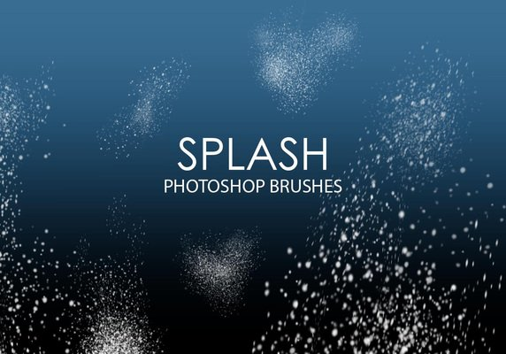 Splash Photoshop Brushes