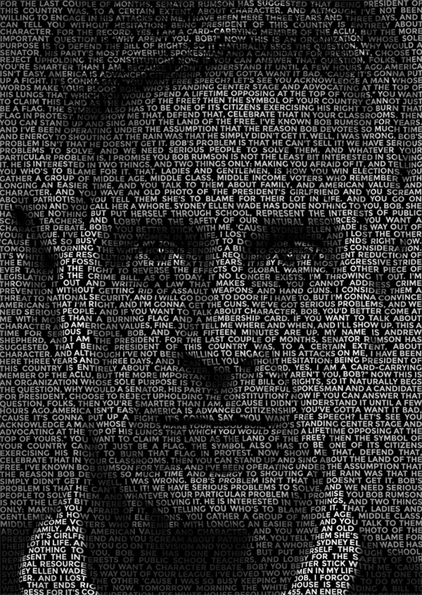 text-portrait-effect