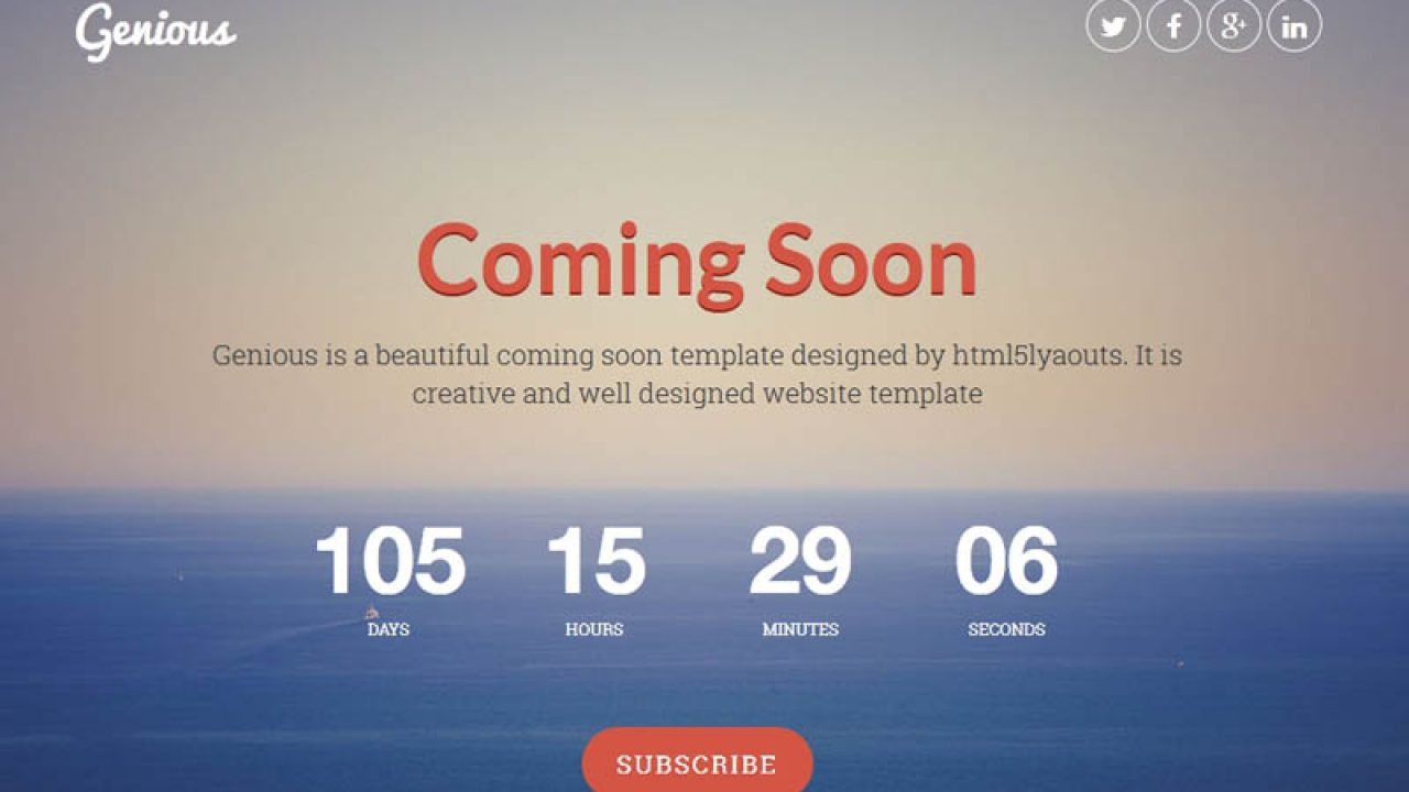 25 Best Coming Soon Html Templates For Free Download And Premium Super Dev Resources