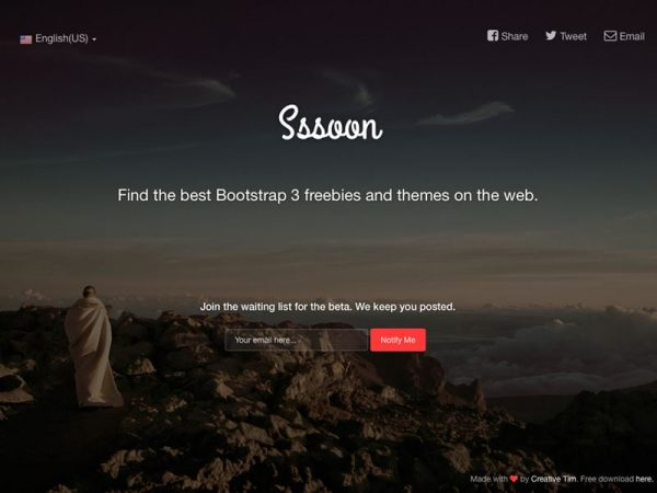 25 Best Coming Soon HTML Templates for Free Download and Premium ...