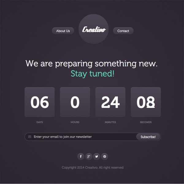 creativo-free-responsive-website-template