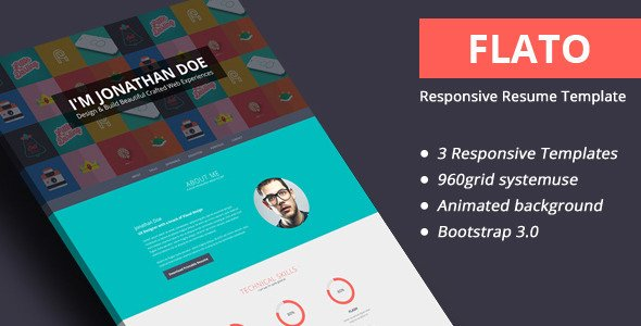Professional Html  Css Resume Templates For Free Download And