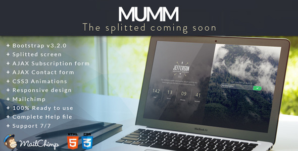 splitted-coming-soon-template