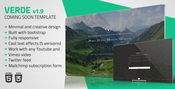 verde-minimal-comingsoon-template