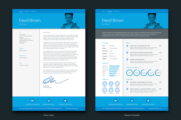 15 material design resume templates for the perfect first impression super dev resources. Black Bedroom Furniture Sets. Home Design Ideas