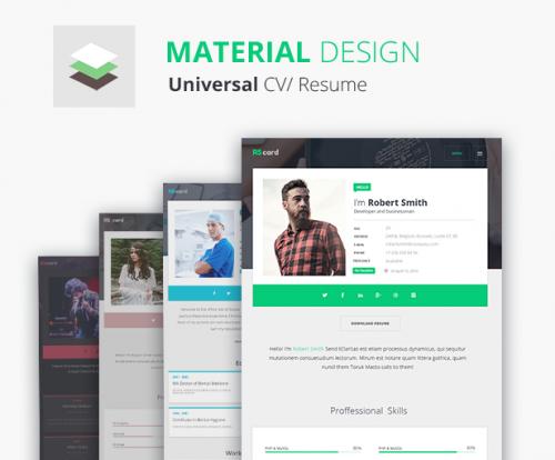 material universal cv