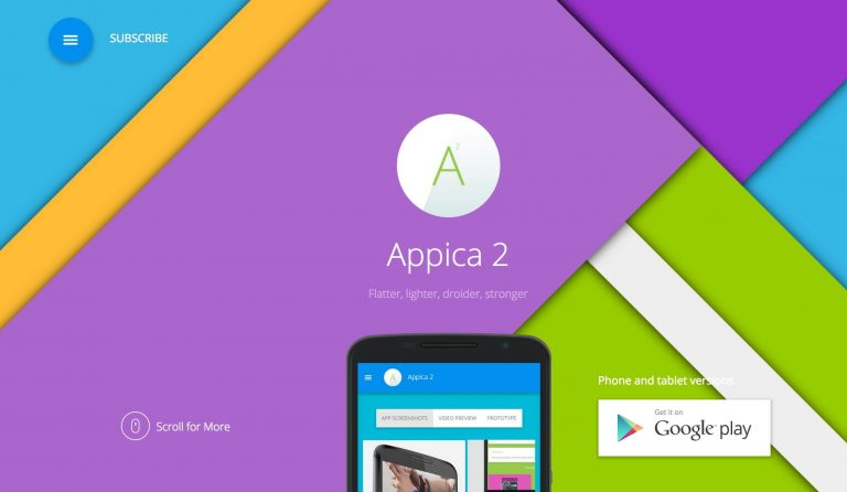 appica wordpress app showcase theme
