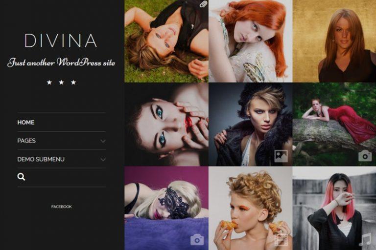 divina photography wordpress theme
