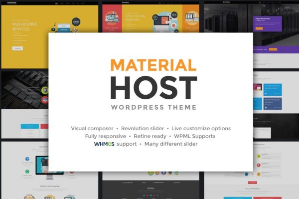 host-material-theme-wordpress