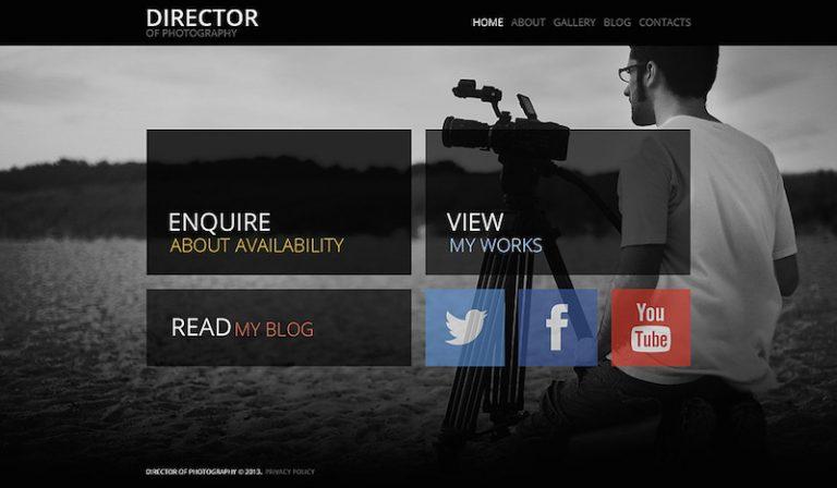 photographer portfolio theme wordpress