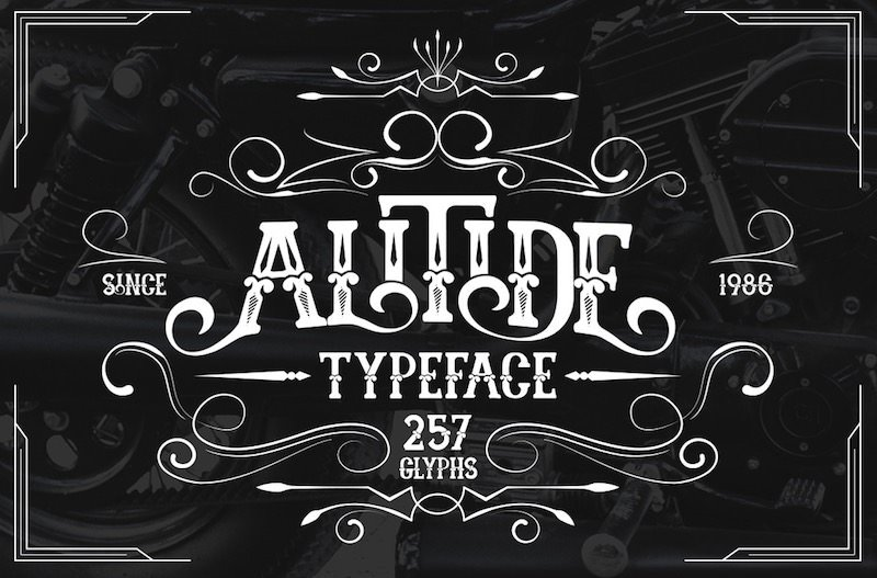 35 Retro Fonts To Perfect Your Vintage Style Inspired
