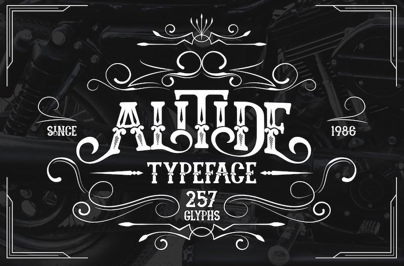 alitide-vintage-typeface