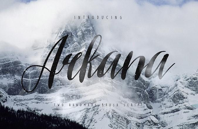 arkana-vintage-script-font