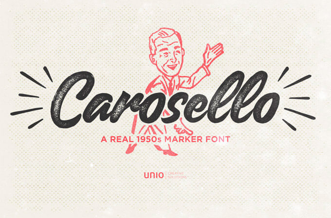 42 Retro Fonts to Perfect your Vintage Style Inspired Design