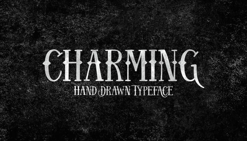 charming-handdrawn-vintage-font