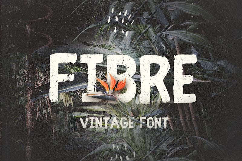 fibre-handwritten-vintage-font