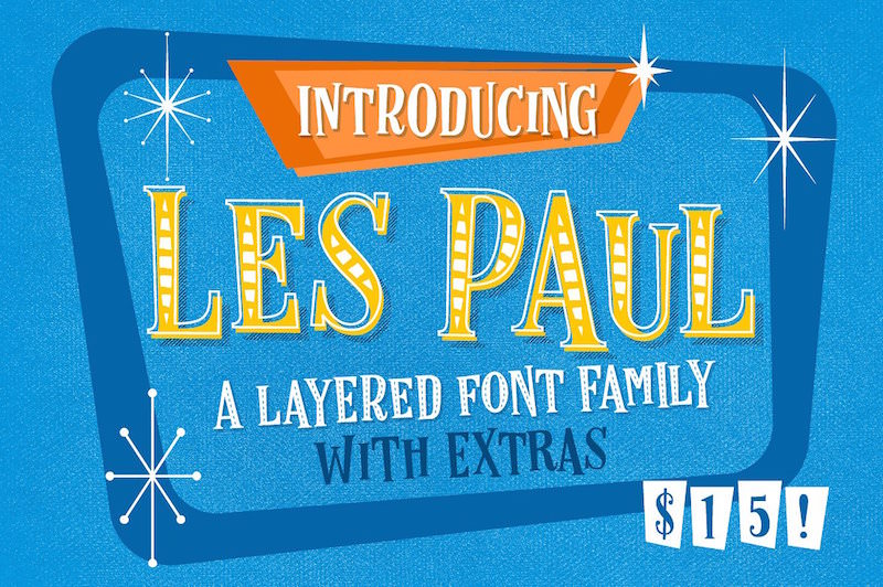 les-paul-retro-fonts-1950s